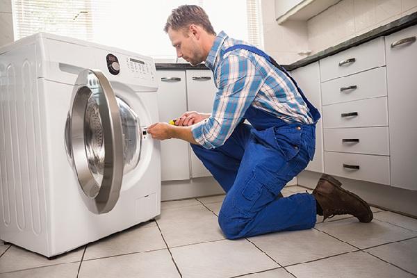 sửa máy giặt không ngắt nước - 1